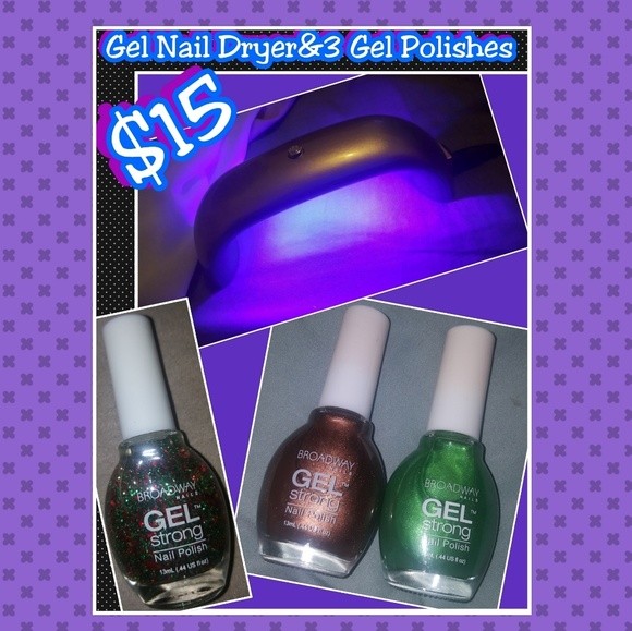 Broadway Nails Other | Gel Polish Dryer And 3 New Polishes | Poshmark